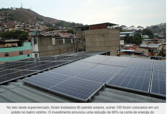 JF tem aumento de mais de 80% na procura por energia solar
